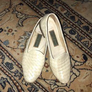 COLE HAAN WHITE PEAR Dickson loafers 7.5AA in box